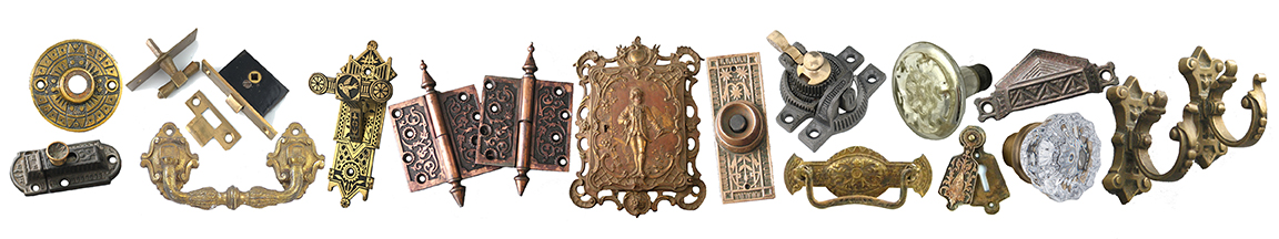 Antique Cabinet Keyhole Covers