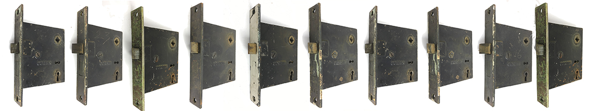 Vintage Welch Mortise Door Lock Restoration  LAST ONE