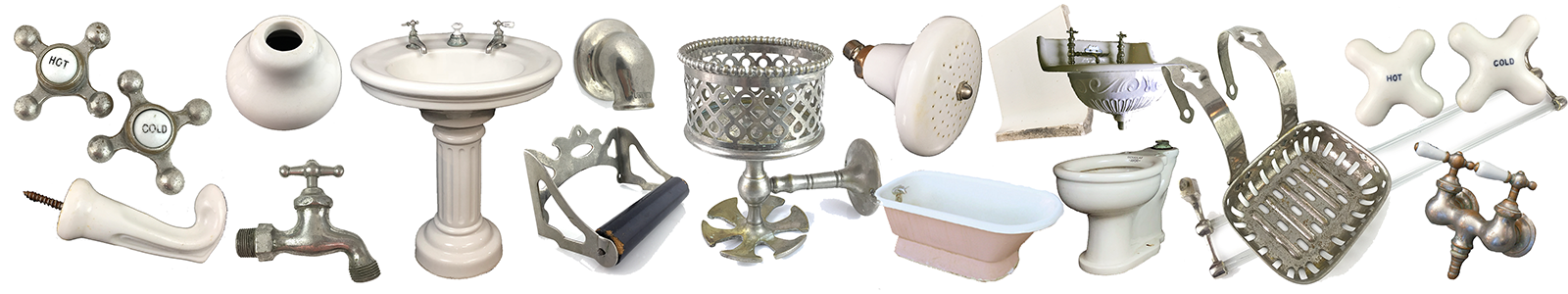 Antique Bath Items