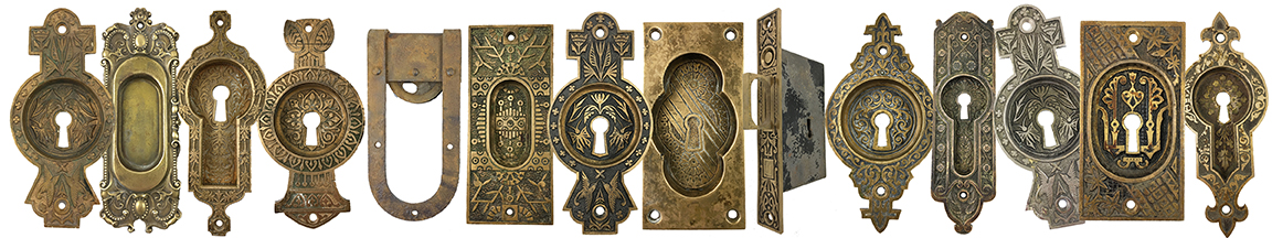Antique Pocket Door Hardware