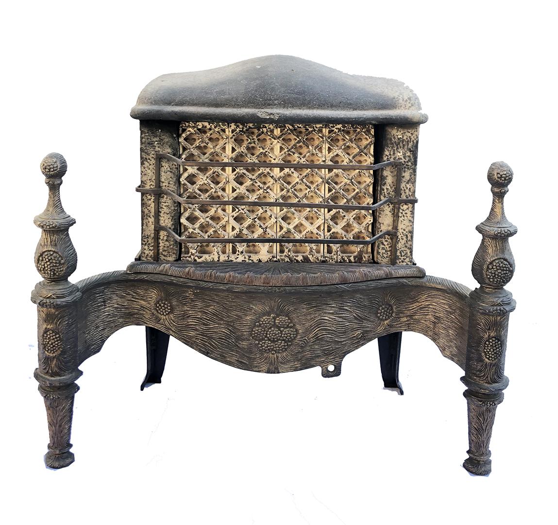 Antique Fireplace Backs Grates