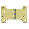 "Solid Brass Parliament Hinge Pair - 4"" x 6"""