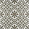 "Berkeley Charcoal Brown 17-5/8"" x 17-5/8"" Ceramic Tile - Brown & Gray & White - Per Case - 11.10 Square Feet"
