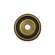 "Solid Brass Round Beveled Backplate, 1"" Diameter"