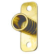 "Inside Mounted Curtain Rod Bracket or Holder for 3/8"" Diameter Curtain Rod - Per Pair"