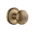 Grandeur Complete Door Set - Featuring Georgetown Rosette and Fifth Avenue Knob