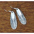 Silverplate Earrings - Repurposed Flatware