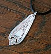 Silverplate Necklace - Repurposed Flatware