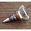 Wine Bottle Stopper - Salvaged Antique Doorknob