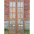 Antique Quartersawn Oak French doors