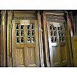 Antique Oak Confessional Doors