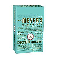 Mrs. Meyers Dryer Sheets - Basil
