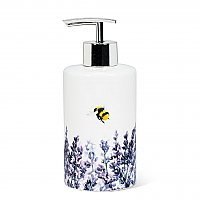 Lavender & Bee Soap or Lotion Pump Dispenser