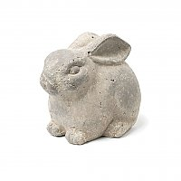 Small Sitting Terra Cotta Bunny