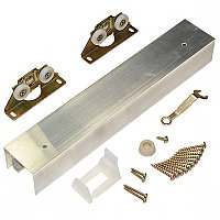 Complete Pocket Door Hardware Set