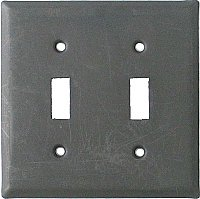 Solid Brass Switchplates- Oil Rubbed Bronze
