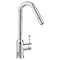 American Standard Pekoe Pull-Down Kitchen Faucet in Chrome or Stainless Steel