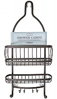 York Lyra Shower Caddy - Bronze