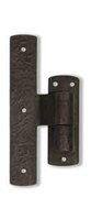 "2-1/4"" Offset Solid Bronze Jamb Mount Pintle Shutter Hinge"