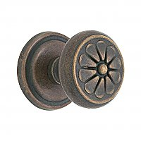 Lost Wax Bronze Knob Complete Set, #12 Rosette