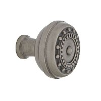 "Nostalgic Warehouse Meadows Brass 1-3/8"" Cabinet Knob in Antique Pewter"
