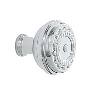 "Nostalgic Warehouse Meadows Brass 1-3/8"" Cabinet Knob in Bright Chrome"