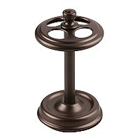 York Metal Toothbrush Holder Stand - Oil Rubbed Bronze