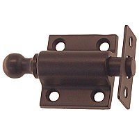 Window Sash Ventilating Bolt or Lock - Oil Rubbed Bronze