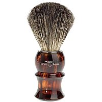 Edwin Jagger Shaving Brush - Pure Badger - Imitation Tortoise Shell