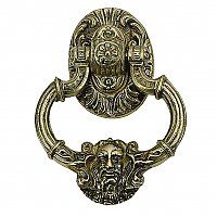 Neptune Solid BrassDoor Knocker 7-3/8""