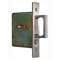 Stainless Steel Pocket or Sliding Door Mortise Pull