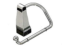 Aqua Toilet Paper Hook in Polished Chrome