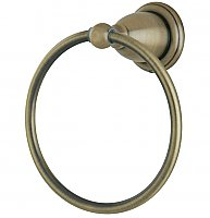 Heritage Collection Towel Ring - Vintage Brass