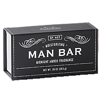 San Francisco Soap Co. Man Bar Midnight Amber