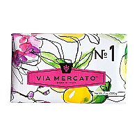Via Mercato Bar Soap - Bergamot, Patchouli & Rosewood