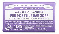 Dr. Bronner's Hemp & Lavender Pure Castile Bar Soap