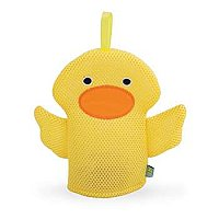 Yellow Duck Wacky Wash Mitt