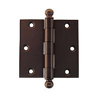"3.5"" x 3.5"" Door Hinge with Ball Tips"