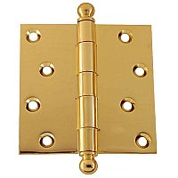 "4"" x 4"" Door Hinge with Ball Tips"