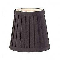 Fabric Lamp Shade, Mini Pleated Deep Drum Shade
