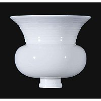 "Opal Glass Reflector, 8"" CLM Type"