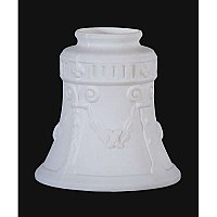 Early Style Embossed Columns Fixture Shade