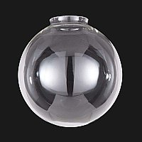 Clear Glass Industrial Ball Shade