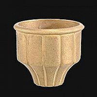Cast Brass Glass Holder