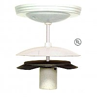 Neckless Ball Holder Ceiling Light Fixture Kit, 4""