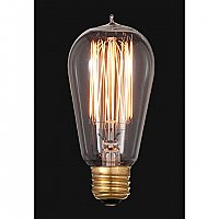 Vintage Style Squirrel Cage Bulb