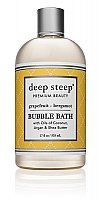 Deep Steep Classic Bubble Bath - Grapefruit Bergamot