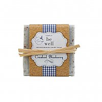 Simply Be Well Handcrafted Bar Soap - Crushed Blueberry