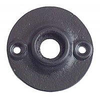 "Cast Iron Door Rosette - 1-7/8"" Diameter"