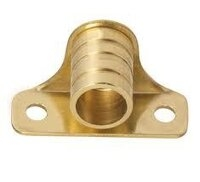 "Surface Mounted Curtain Rod Bracket or Holder for 3/8"" Diameter Curtain Rod - Per Pair"
